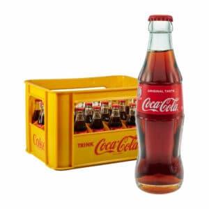 Coca-Cola Glas diverse Sorten 24x0,33L