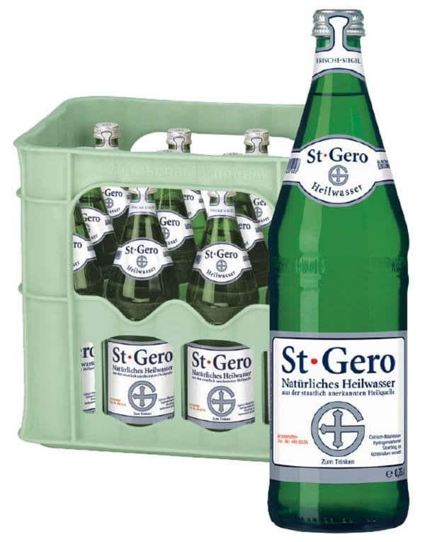 St. Gero Wasser 12x0,75L